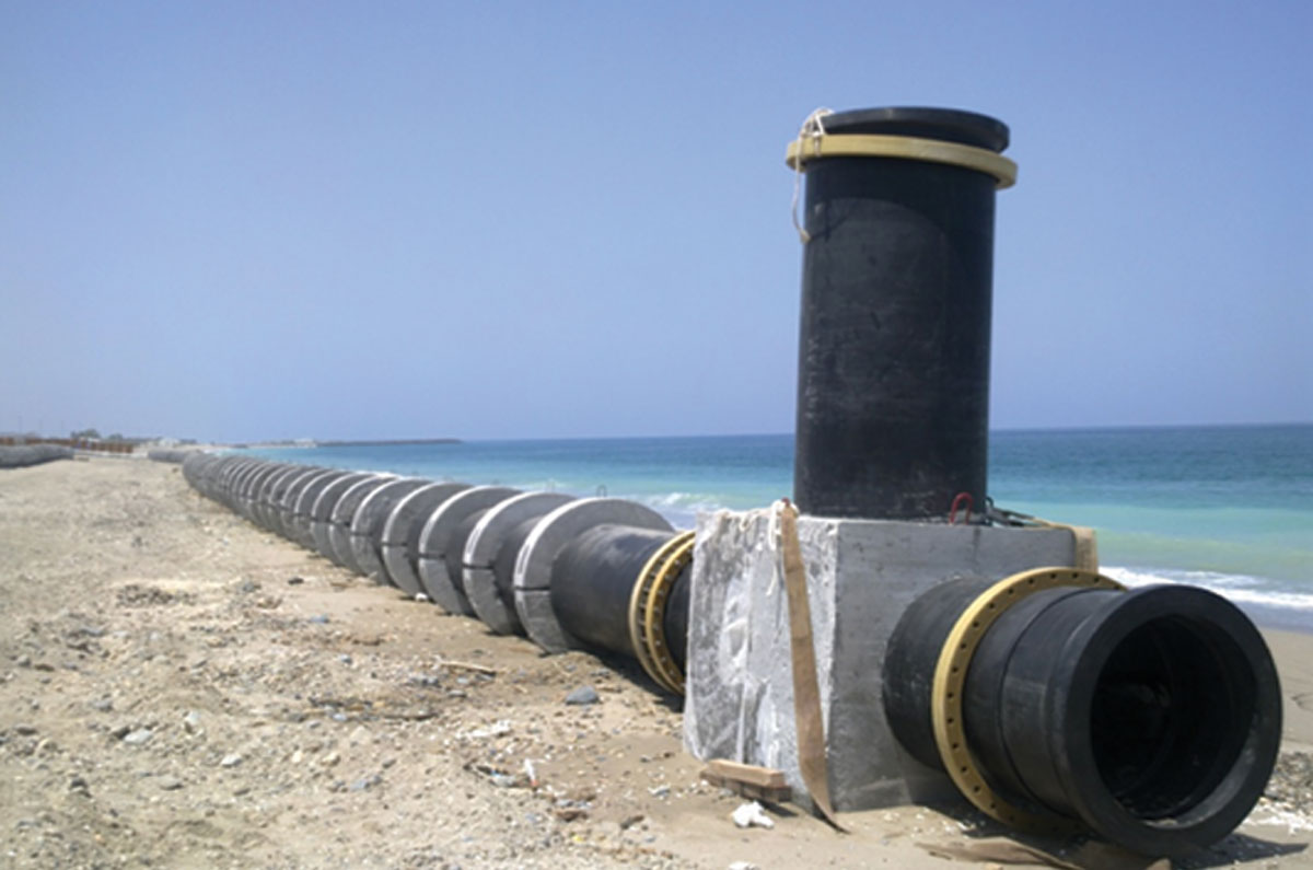 Offshore Pipe line Installation