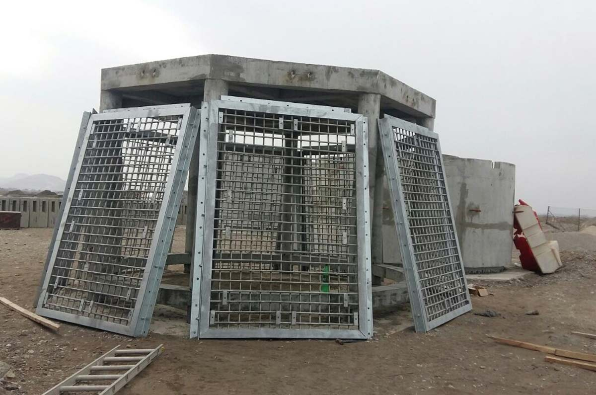 Intake Tower Screen