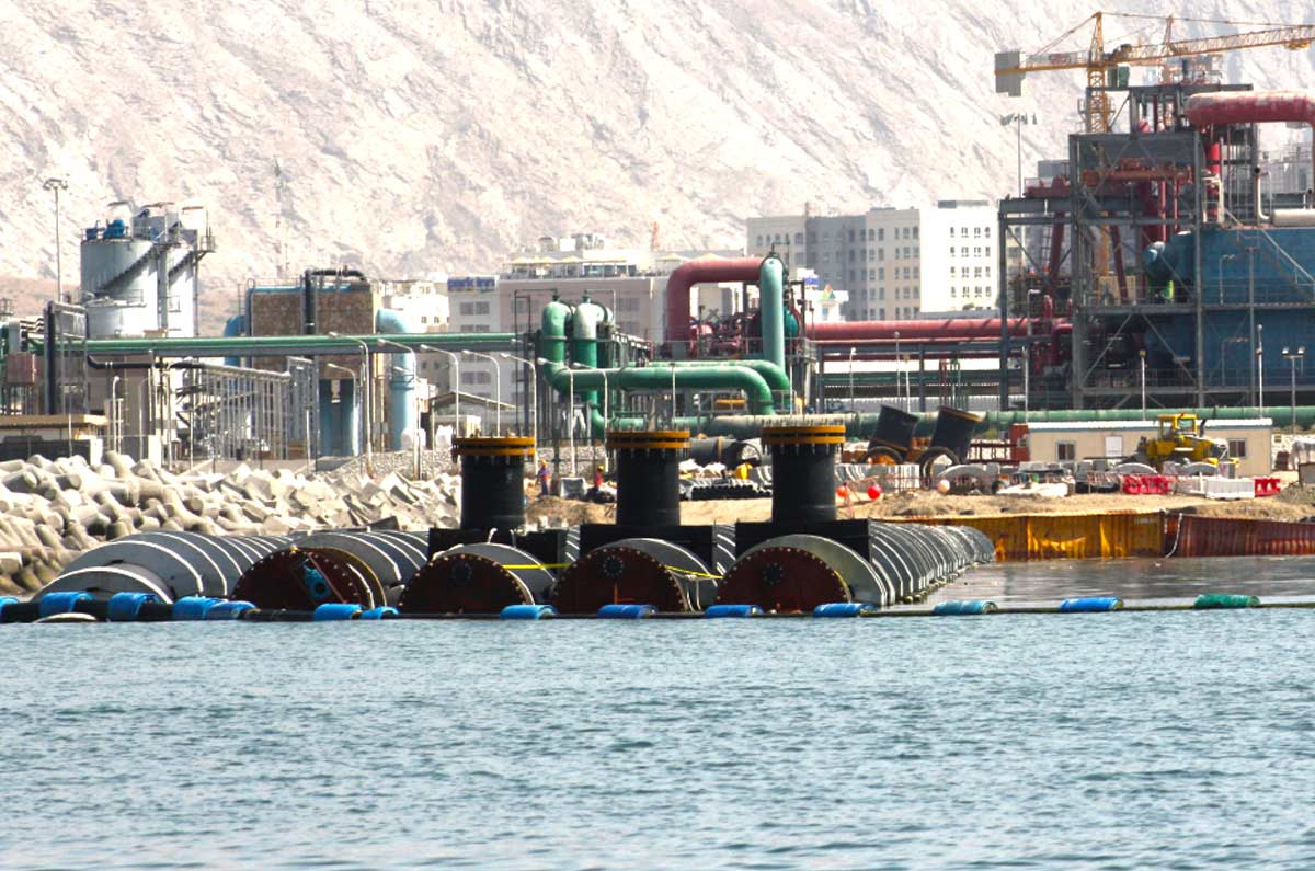 UAE Dredging companies - Union Dredgers and Marine Contracting