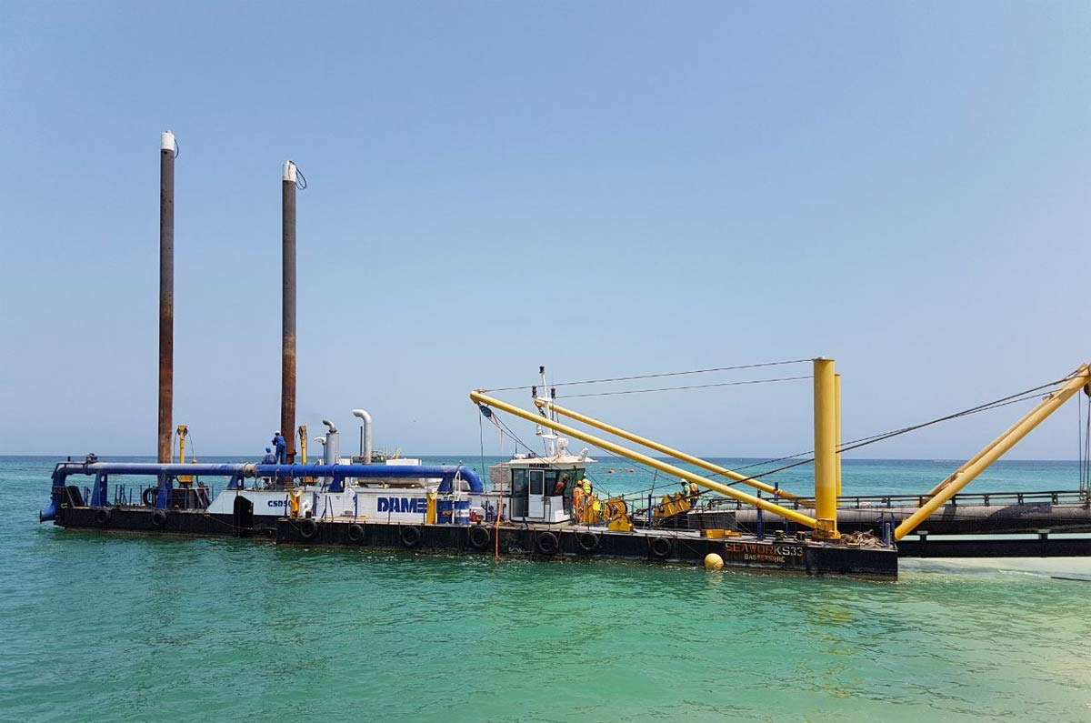 cutter suction dredger UAE